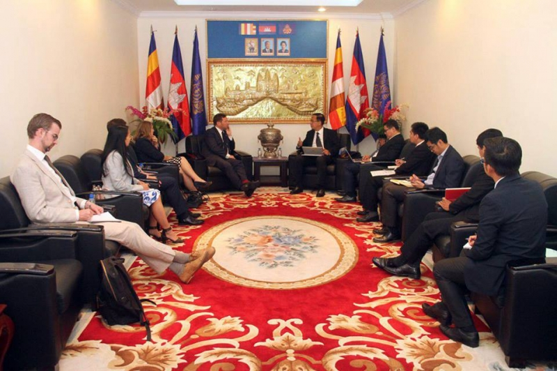 British Companies Eye Cambodia for Construction Business