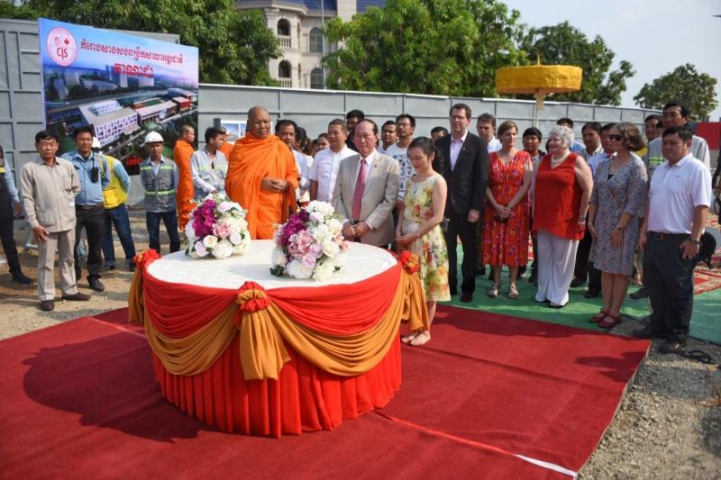 Cis Koh Pich Campus Breaks Ground On Usd20 Million